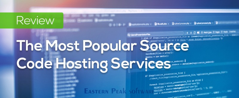 Source code hosting services for software development projects