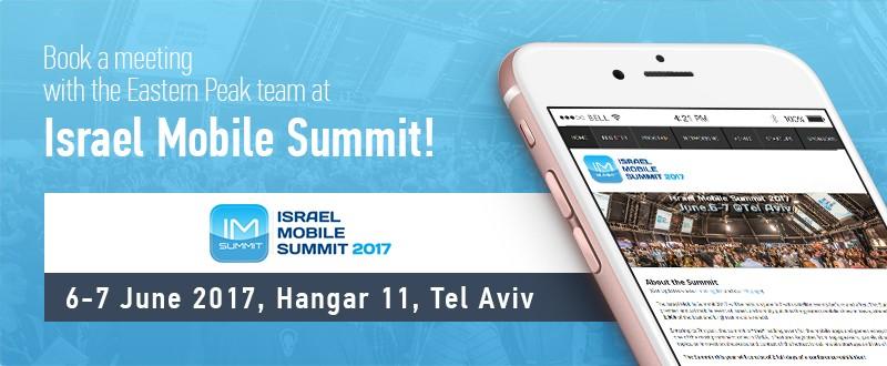 Israeli Mobile Summit 2017 in Tel Aviv
